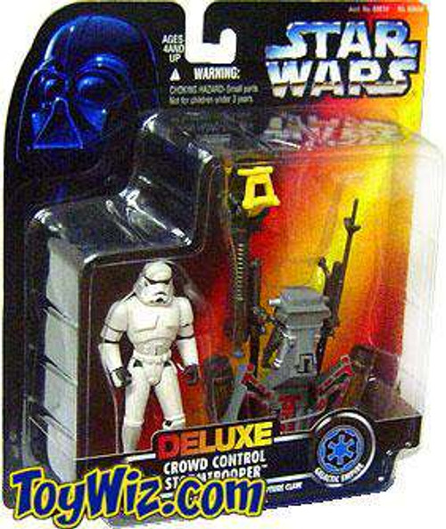 Star Wars Expanded Universe Power of the Force POTF2 Crowd Control Stormtrooper Action Figure [Damaged Package]