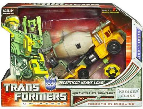 Transformers Universe Voyager Decepticon Heavy Load Voyager Action Figure