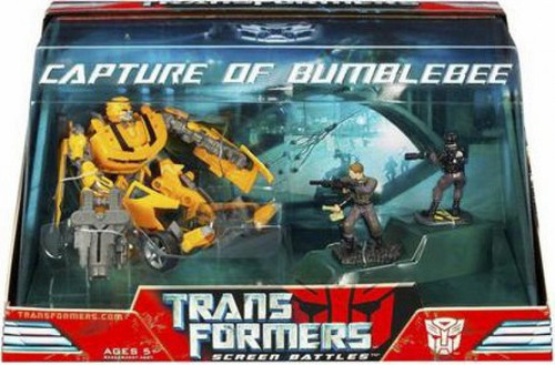 Transformers Movie Screen Battles Capture of Bumblebee Action Figure Set