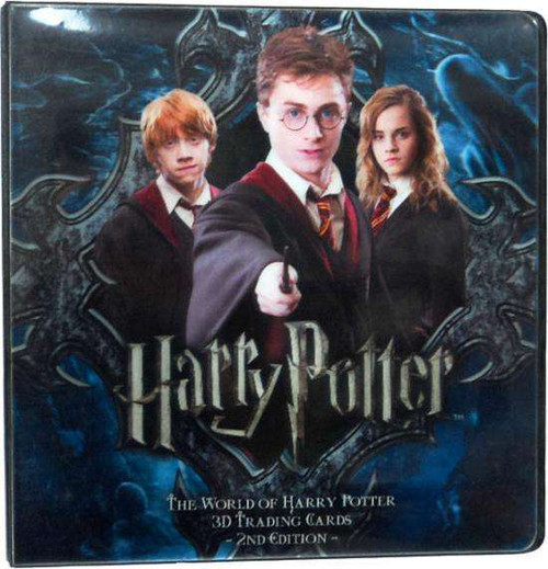 The World of Harry Potter Series 2 Holographic 3D D-Ring Binder
