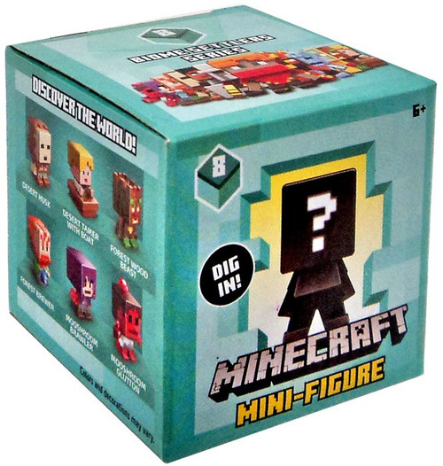 Minecraft Biome Settlers Series 8 Mystery Pack