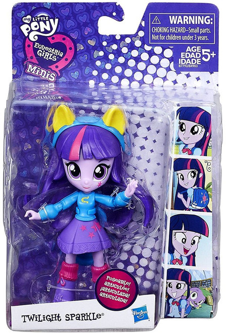 My Little Pony Equestria Girls Minis Twilight Sparkle 4.5-Inch Doll [Version 1]