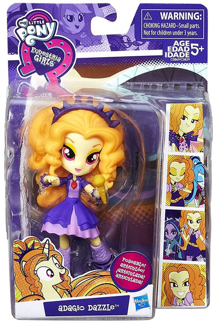 My Little Pony Equestria Girls Minis Adagio Dazzle 4.5-Inch Doll