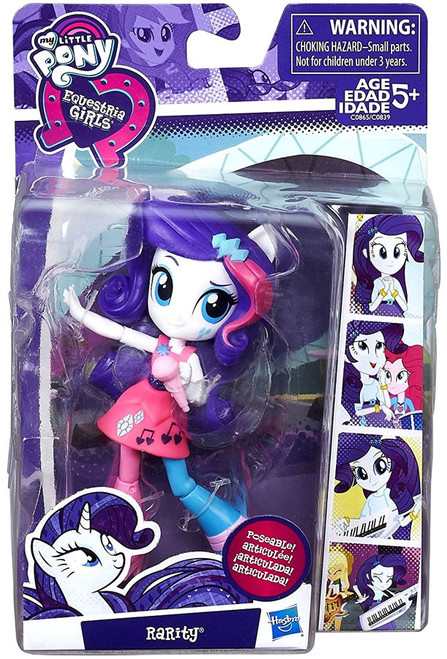 My Little Pony Equestria Girls Minis Rarity 4.5-Inch Doll