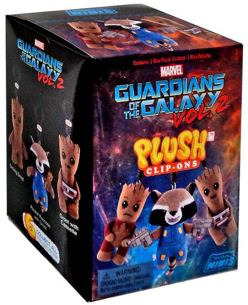 Marvel Original Minis Guardians of the Galaxy Vol. 2 Plush Clip-Ons Mystery Pack