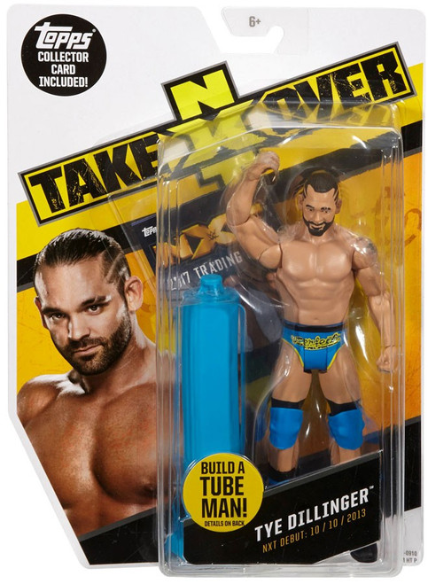WWE Wrestling NXT Takeover Tye Dillinger Exclusive Action Figure [Build A Tube Man!]
