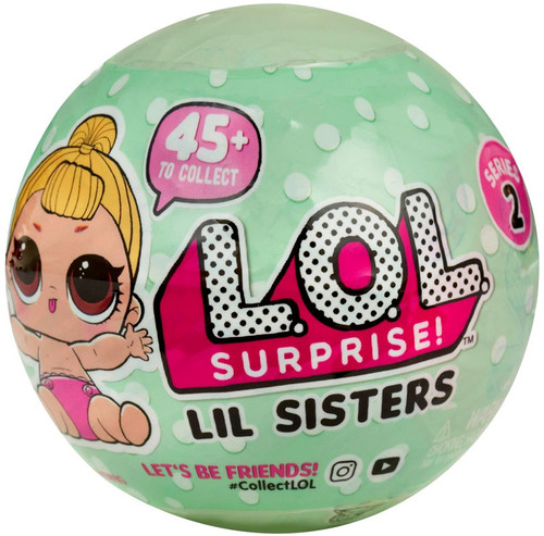 LOL Surprise Series 2 Lil Sisters Mystery Pack [Wave 1, Pink Diapers]