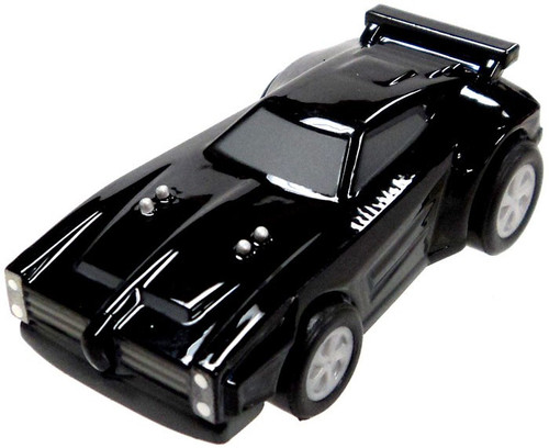 Rocket League Pullback Racer Dominus Mini Car [Black With Code]