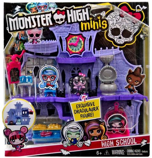 Monster High Minis High School Playset