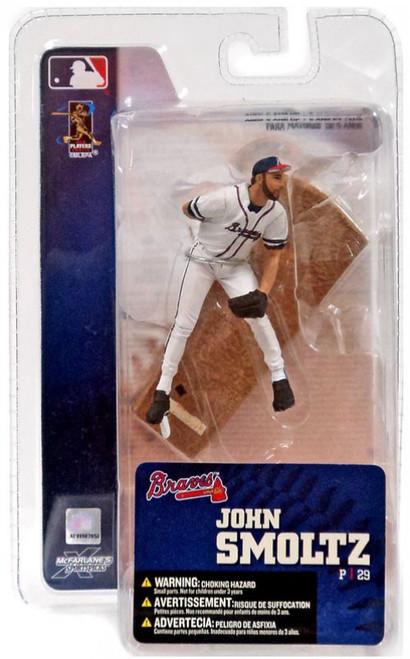 McFarlane Toys MLB Atlanta Braves Sports Picks 3 Inch Mini Series 4 John Smoltz Mini Figure