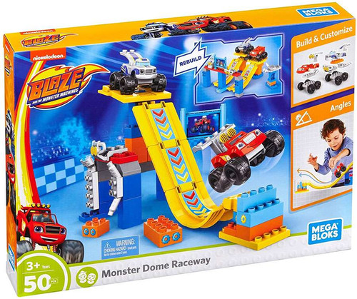 Mega Bloks Blaze & the Monster Machines Monster Dome Raceway Set DXF25