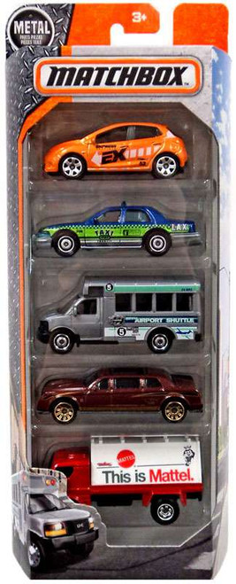 Matchbox Extraordinary Vehicles Diecast Vehicle 5-Pack [City]