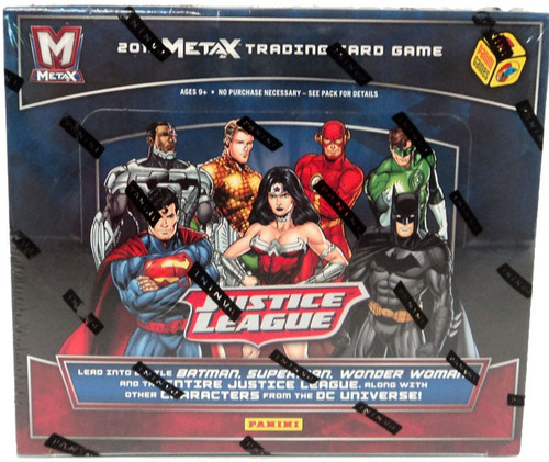 Justice League Panini Meta X Booster