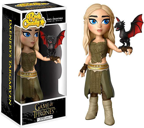 Funko Game of Thrones Rock Candy Daenerys Targaryen Vinyl Figure