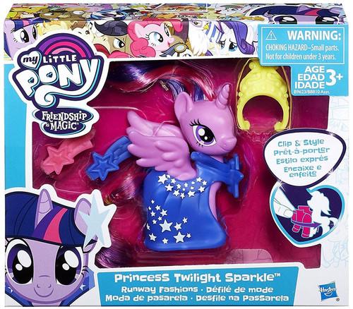 My Little Pony Friendship is Magic Runway Fashions Princess Twilight Sparkle Figure