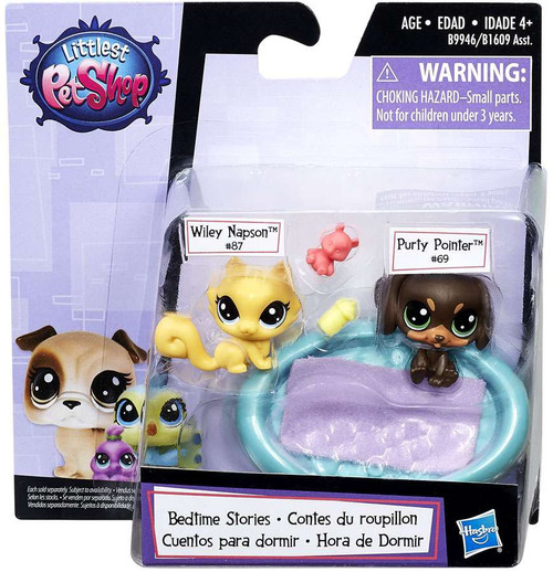 Littlest Pet Shop Bedtime Stories Figure 2-Pack
