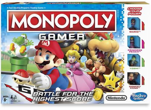 Monopoly Super Mario Gamer Edition Board Game