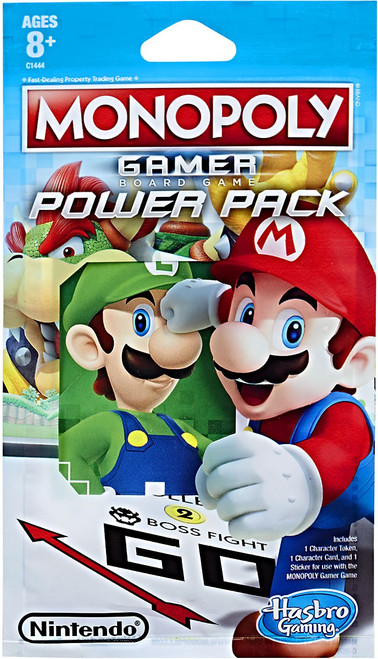 Monopoly Super Mario Gamer Edition Power Pack Mystery Pack