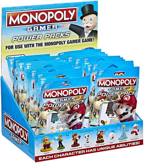 Monopoly Super Mario Gamer Edition Power Pack Mystery Box [24 Packs]