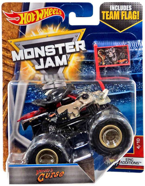 Hot Wheels Monster Jam Monster Mutants Pirate's Curse Die-Cast Car