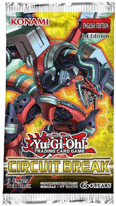 YuGiOh Trading Card Game Circuit Break Booster Pack