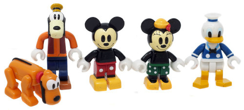Disney Characters Box Figure Collection Mini Figure 5-Pack