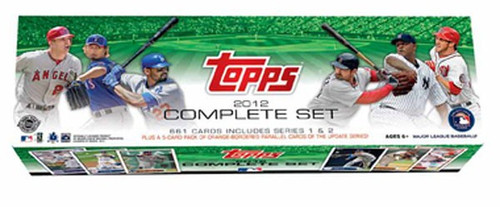 MLB Topps 2012 Series 1 & 2 Baseball Trading Card HOBBY Set [661 Cards + Pack of Parallel Cards]