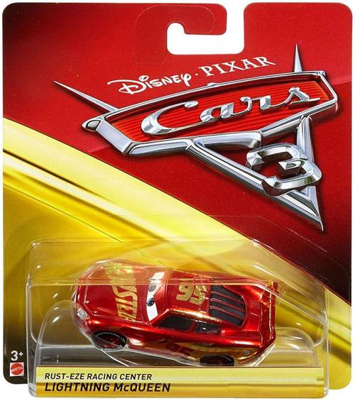 Disney / Pixar Cars Cars 3 Lightning McQueen Exclusive Diecast Car [Rust-Eze Racing Center]