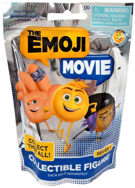 The Emoji Movie Collectible Figure Mystery Pack