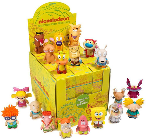 Nickelodeon Vinyl Mini Figure Nick 90's Series 1 3-Inch Mystery Box [24 Packs]