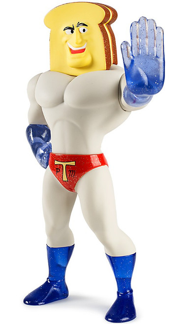 Ren & Stimpy Powdered Toast Man 8-Inch Vinyl Medium Figure