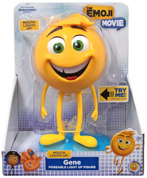 The Emoji Movie Poseable Light Up Gene 8-Inch Figure