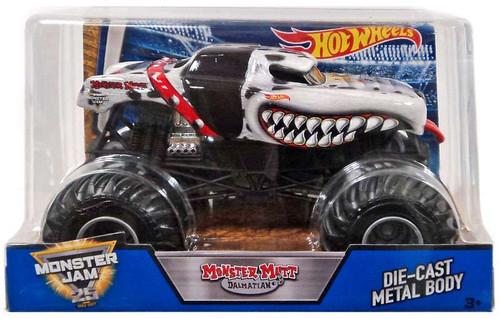 Hot Wheels Monster Jam Monster Mutt Dalmatian Diecast Car