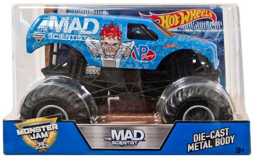 Hot Wheels Monster Jam The Mad Scientist Die-Cast Car