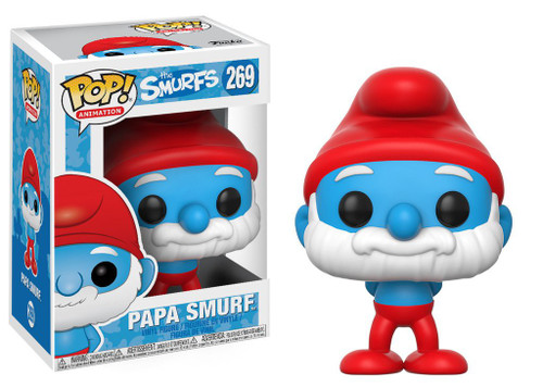 Funko Smurfs POP! Animation Papa Smurf Vinyl Figure