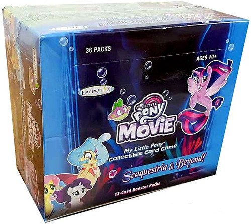 My Little Pony Movie Seaquestria & Beyond Booster Box [36 Packs]