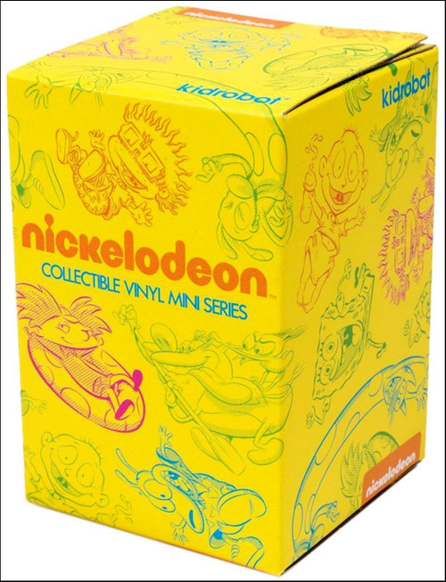 Nickelodeon Vinyl Mini Figure Nick 90's Series 1 3-Inch Mystery Pack [1 RANDOM Figure!]