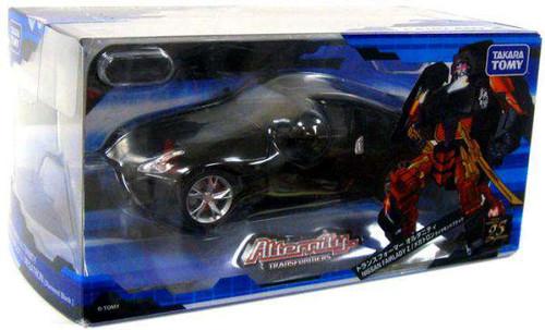 Transformers Japanese Alternity Nissan Fairlady Z Megatron Action Figure A-02 [Diamond Black, Damaged Package]
