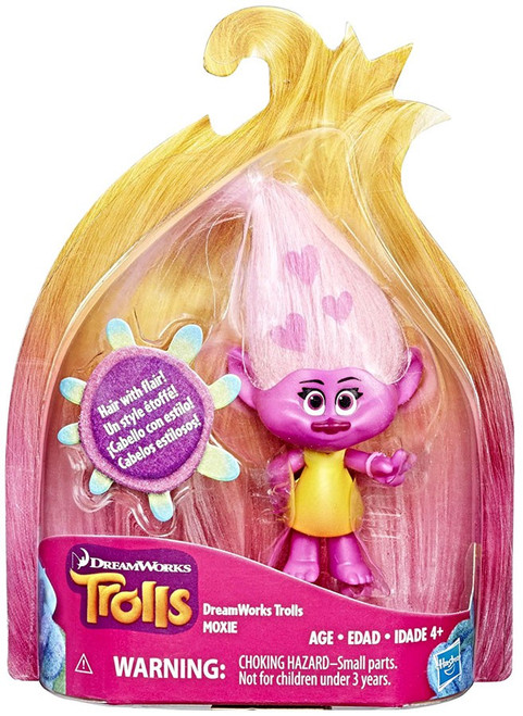 Trolls Moxie Action Figure [Hair with Flair]