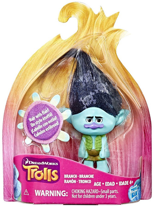Trolls Branch Action Figure [Hair with Flair]