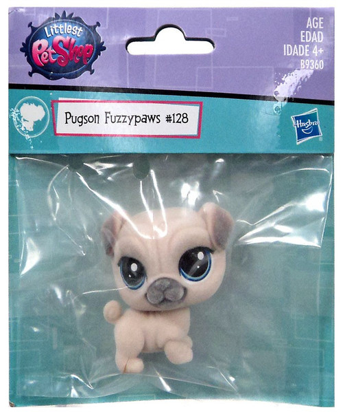 Littlest Pet Shop Pugson Fuzzypaws Exclusive #128
