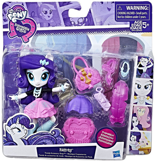My Little Pony Equestria Girls Rarity Trendy Accessory 4.5-Inch Figure