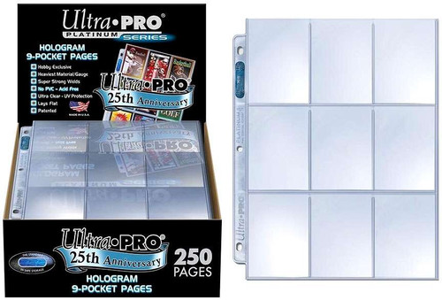 Ultra Pro Card Supplies Hologram Series 9-Pocket Pages [250 Pages]