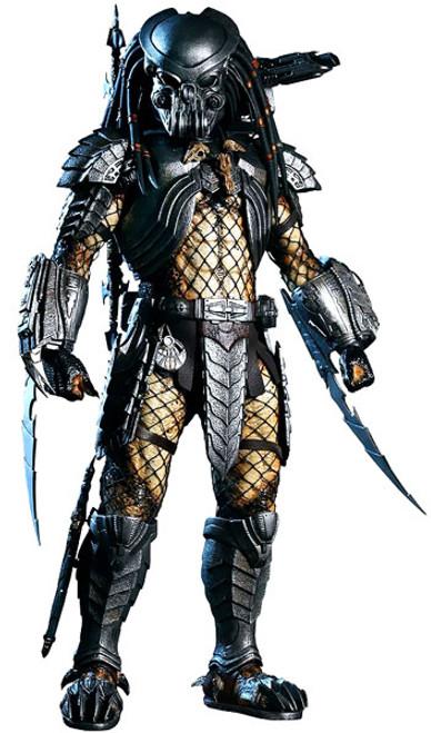 Alien vs Predator Movie Masterpiece Celtic Predator Collectible Figure [Damaged Package, Mint Figures]