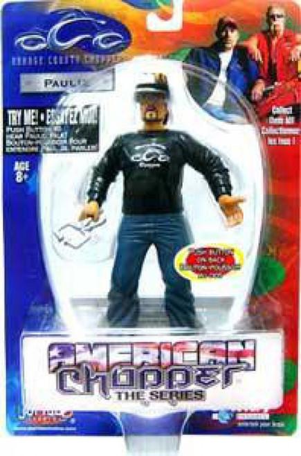 Orange County Choppers American Chopper Paulie Action Figure