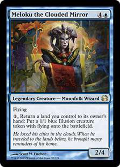 MtG Modern Masters Rare Foil Meloku the Clouded Mirror #52