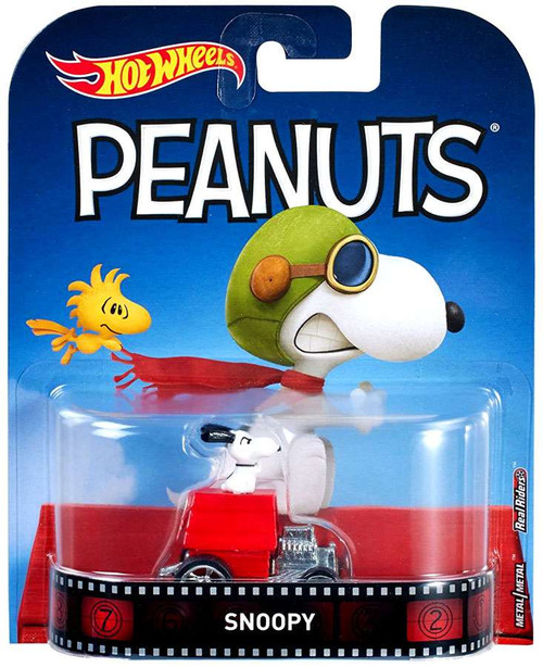 Hot Wheels Peanuts Snoopy Diecast Car