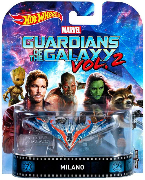 Hot Wheels Marvel Guardians of the Galaxy Vol. 2 Milano Die-Cast Car