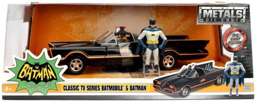 DC Classic TV Series Batmobile & Batman Diecast Vehicle