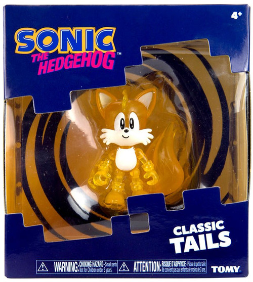 Sonic The Hedgehog Classic Tails Action Figure [Translucent]